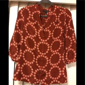 Banana Republic 100%silk blouse